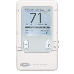 Carrier Infinity Control thermostat